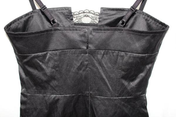 イタリア製 LINEA レディースワンピース Mサイズ ブラック 新品_画像4