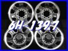 ■送料無料A2■ TOPY 製/トヨタ 純正 メッキ スチール 15×7J+10位 6H 139.7 ハブ径106  4本