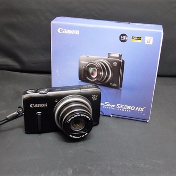 canon(キャノン)デジタルカメラ PowerShot 光学20倍ズーム PSSX260HS PC1742 SX260HS【高岡鐘紡店】