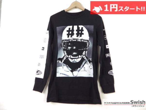 A895●Been Trill ビーントリル × HBA●新品 TEE 長袖 Tシャツ/ロンT S 黒●