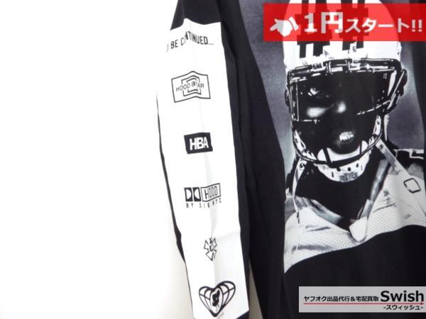 A895●Been Trill ビーントリル × HBA●新品 TEE 長袖 Tシャツ/ロンT S 黒●_画像4