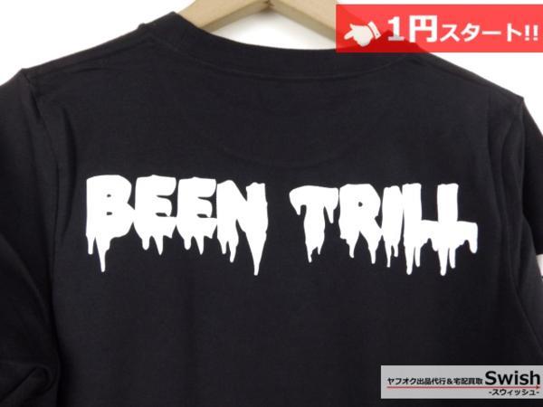 A895●Been Trill ビーントリル × HBA●新品 TEE 長袖 Tシャツ/ロンT S 黒●_画像6