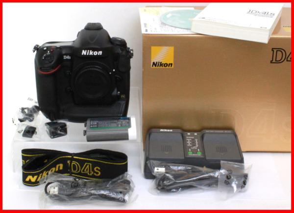 1円~ 【極上】中古品 ニコン Nikon D4s Body
