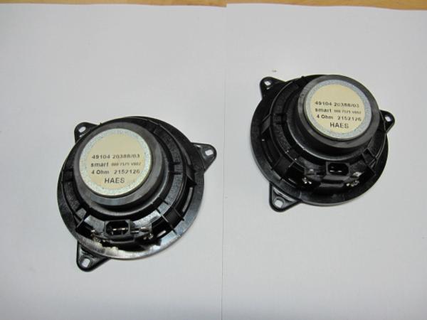003★MCCスマート450型純正スピーカー2個セット中古品_画像4