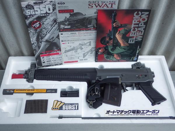 電動ガン|東京マルイ SIG SG551 SWAT◆箱・説明書つき◆ジャンク_画像3
