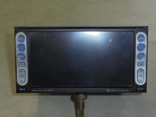 トヨタ純正DVDナビゲーションシステム(NDDA-W55/08545-00N21)ジャンク_画像1