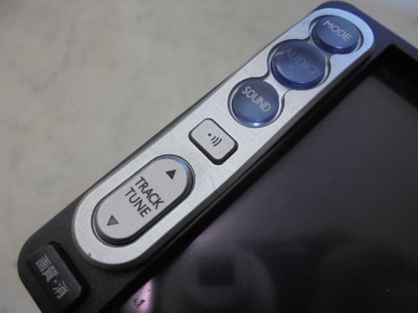 トヨタ純正DVDナビゲーションシステム(NDDA-W55/08545-00N21)ジャンク_画像6