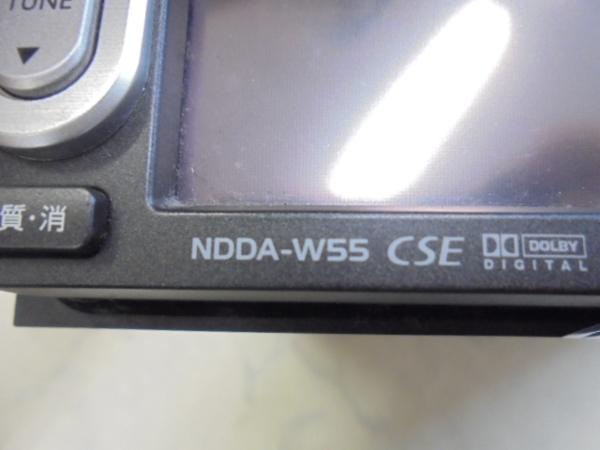 トヨタ純正DVDナビゲーションシステム(NDDA-W55/08545-00N21)ジャンク_画像7