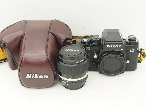 Nikon カメラ F3 HP + レンズ NIKKOR 35mm 1:1.4 ジャンク ▽ 4E386-1