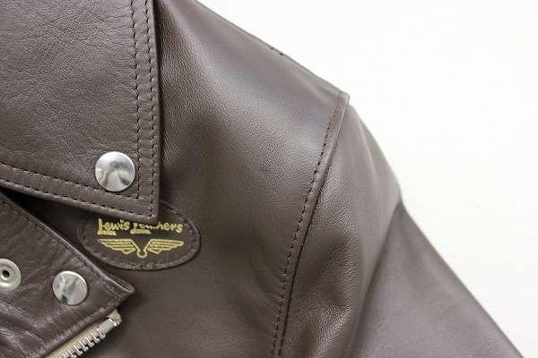1J5469/未使用品 ルイスレザー 441T タイトフィットサイクロン ライダース Lewis Leathers 36_画像7