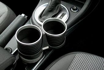 【M's】VW ジェッタ(2006y-2010y)/ザ・ビートル(2012y-)/ゴルフ5 ゴルフ6 ゴルフ7(2003y-)ALCABO 高級 ドリンクホルダー(BKリング)ALT107BS_※ 画像はBK+リングの取付けサンプル