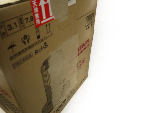トヨトミ 対流型石油ストーブ コンクリ9畳/木造7畳 日本製 レッド MR-25D 新品未開封_画像3