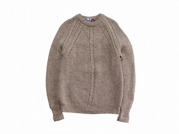 【M/L】 90's イギリス製 ヴィンテージ ウールニット セーター クルーネック メンズ アメリカ古着 COUNTRY VOGUE ブリティッシュウール_画像1