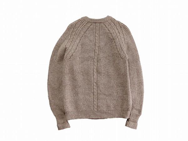 【M/L】 90's イギリス製 ヴィンテージ ウールニット セーター クルーネック メンズ アメリカ古着 COUNTRY VOGUE ブリティッシュウール_画像2