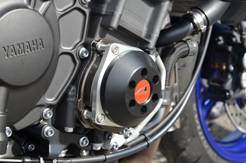 AGRAS(アグラス) MT-10(SP) 17~ レーシングスライダー 3点セット! フレームタイプ+クランクタイプ_クランクタイプと