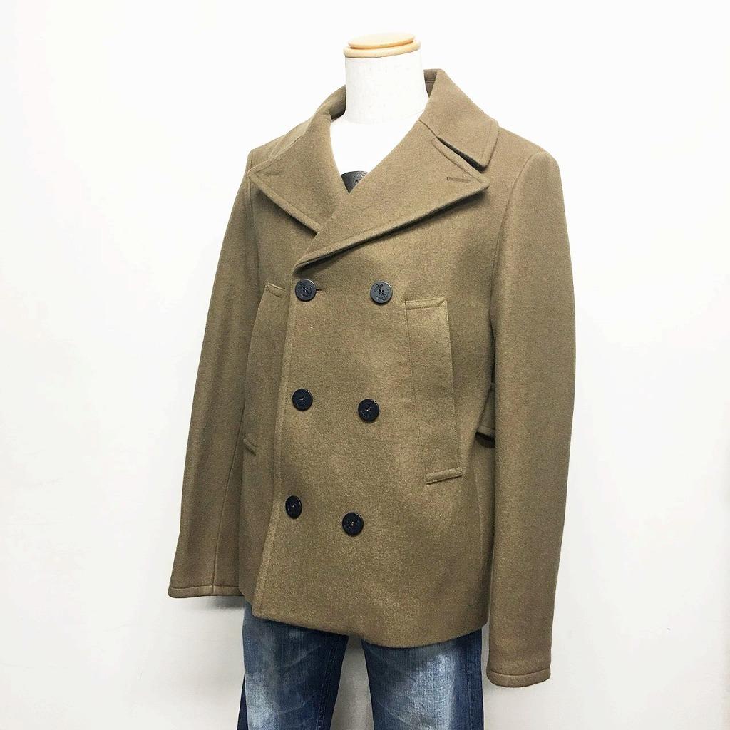[New] Golden Goose Deluxe Brand (GOLDEN GOOSE DELUXE BRAND) Pea Coat XS Beige / 01787