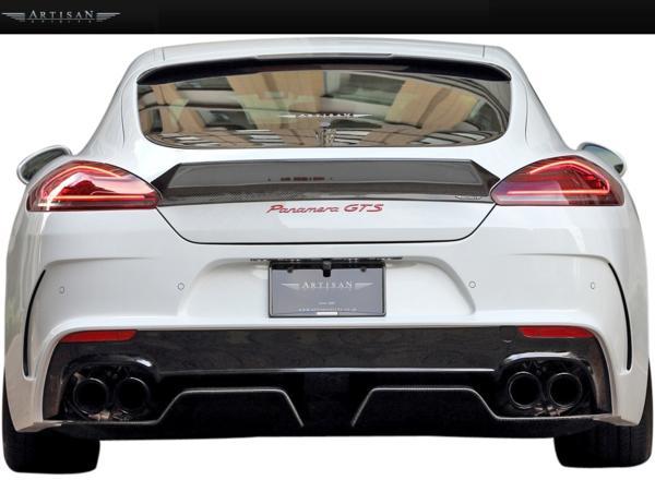 【M's】Porsche 970パナメーラ 13y-後期 ARTISAN サイドアンダー_画像6