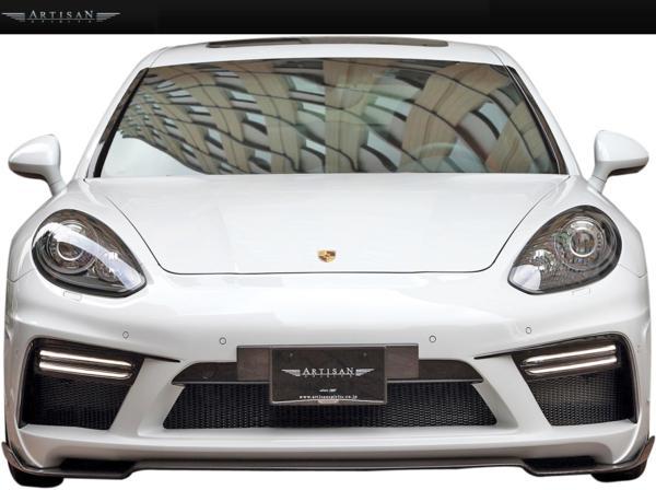 【M's】Porsche 970パナメーラ 13y-後期 ARTISAN サイドアンダー_画像5