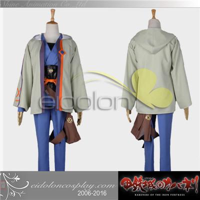 甲鉄城のカバネリ 生駒 コスプレ衣装 グッズの画像