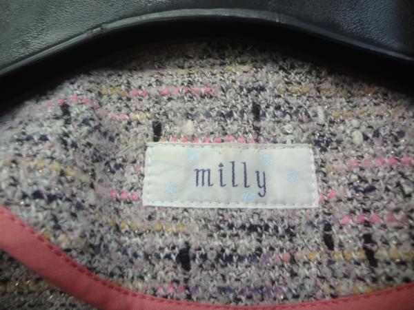 milly ミリー ツイードジャケット _画像2