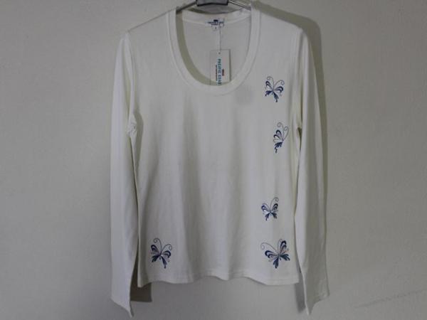 パシフィックコースト Pacific Coast レディース長袖Tシャツ ホワイト Mサイズ 新品_画像1
