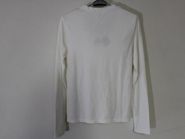 パシフィックコースト Pacific Coast レディース長袖Tシャツ ホワイト Mサイズ 新品_画像3