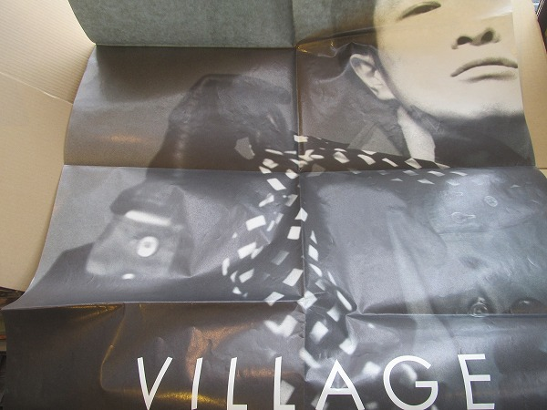 ポスター「小沢健二 VILLAGE」1995ツアーVILLAGEポスター(1) ライブグッズの画像