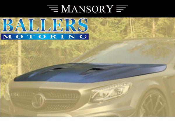 MANSORY BENZ W217 Sクーペ エアロボンネット Visible Carbon ( フロント 外装 エアロ )_画像1