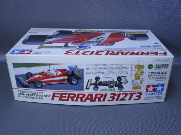タミヤ製(ITEM49191) 1/10電動フォーミラーカー フェラーリ 312T3 (F103RSシャシー)未組み立て品_画像2