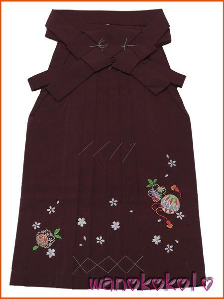 【和のこころキッズ】七五三・卒園式に◇七歳用刺繍袴・古典柄E_画像1