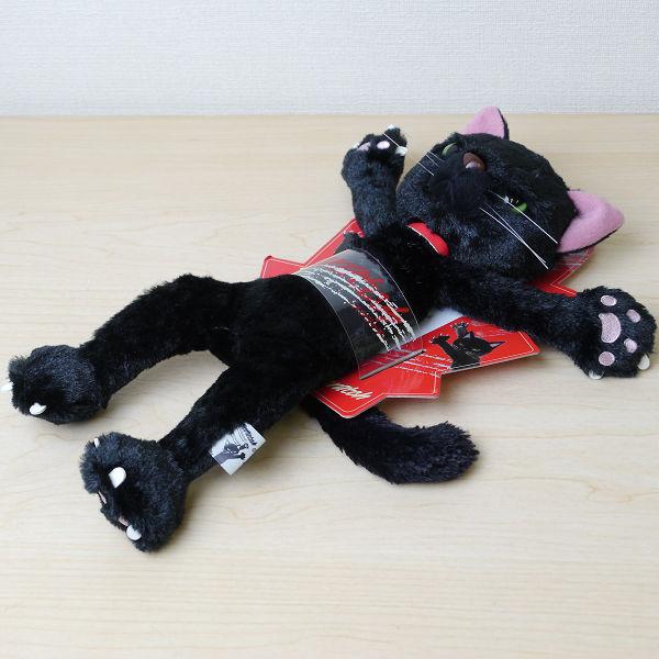 新品☆米田民穂 スクラッチ 黒/MSサイズ★ぬいぐるみ/猫_画像3