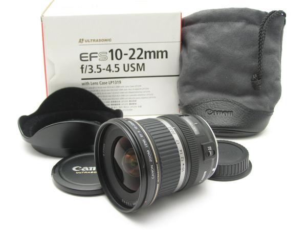 ★ハロ-カメラ★5006 Canon EF-S 10-22mm F3.5-4.5 USM Case箱付 動作品●美品