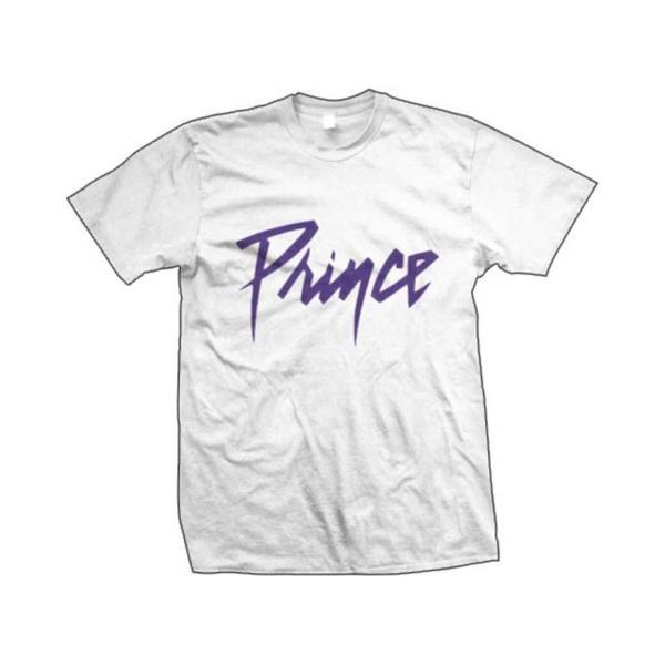 Prince Tシャツ プリンス Logo WHITE S