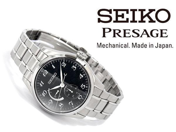 国内定価90000円 新品 正規品 セイコー プレザージュ SEIKO PRESAGE 自動巻き メカニカル 腕時計 メンズ プレステージライン プレゼント_画像2