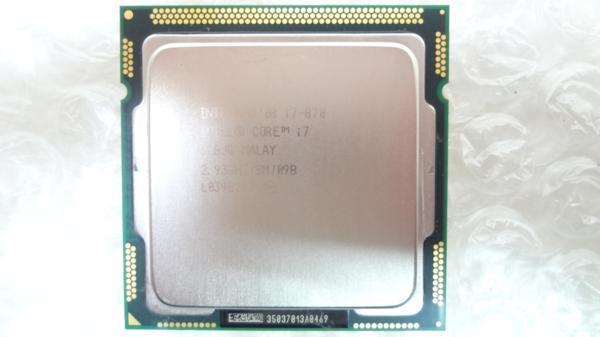 1円~ Intel Core i7-870 SLBJG 2.93GHz 8MB 中古動作品