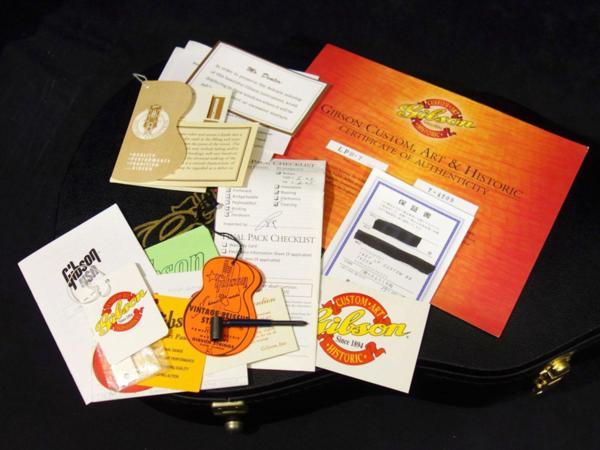 中古品「 Gibson Custom Shop 【 Historic Collection 1957 Les Paul Custom Reissue Ebony 2004 】」_画像10