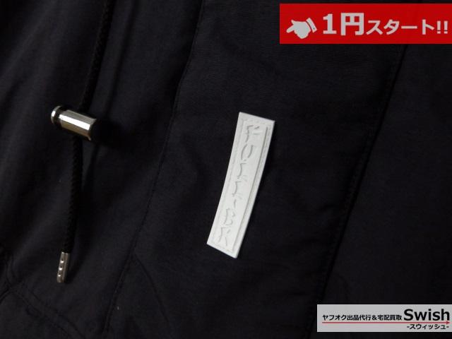 A377●FULL-BK フルビーケー●SPACEMAN JACKET プルオーバー シンサレート 中綿 ジャケット L 黒●_画像3