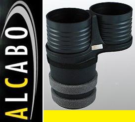 【M's】W222 W217 R217 ベンツ AMG Sクラス(13y-)ALCABO 高級 ドリンクホルダー(ブラック)//アルカボ カップホルダー AL-M315B ALM315B_画像1