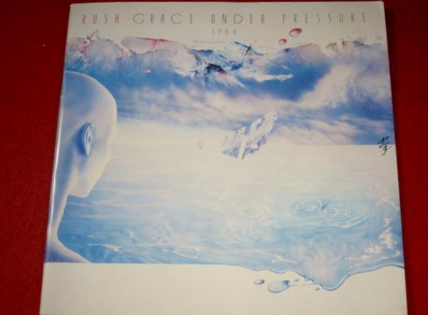 0317お3■ツアーパンフ■ラッシュ GRACE UNDER PRESSURE 1984日本公演(送料無料