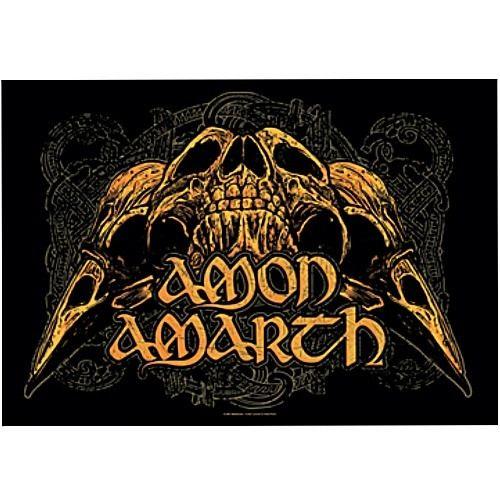 海外限定 公式 Amon Amarth アモン アマース 特大布ポスターG178