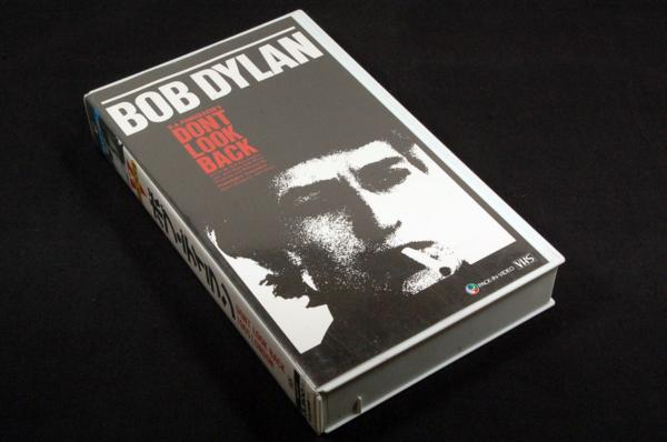 VHS-ボブ.ディランDont Look Back 1965LONDONドントルックバック_画像1