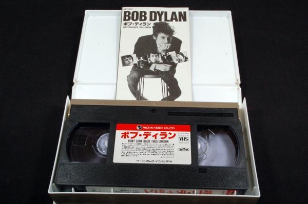 VHS-ボブ.ディランDont Look Back 1965LONDONドントルックバック_画像3