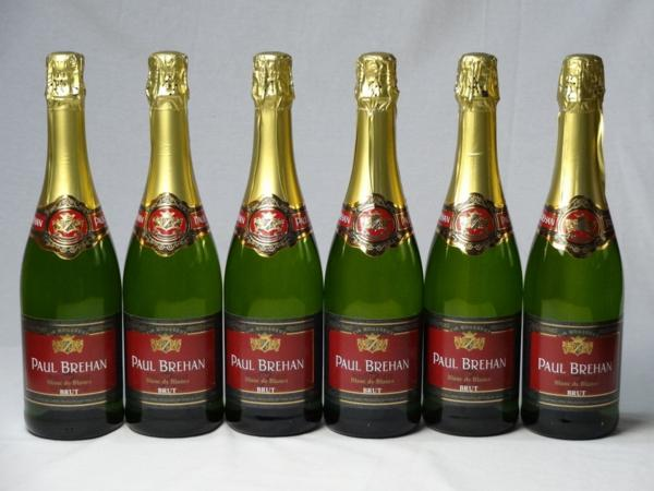 スパークリングワイン辛口6本セット ポール・ブレハン ブラン_画像1