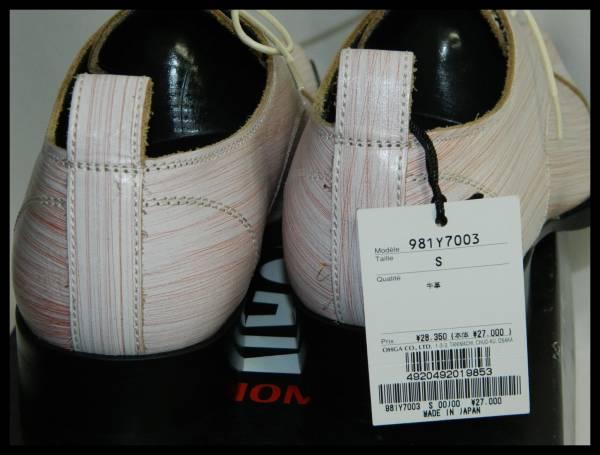 未使用MORGAN HOMME モルガンオム 革靴 レザーシューズS_画像3