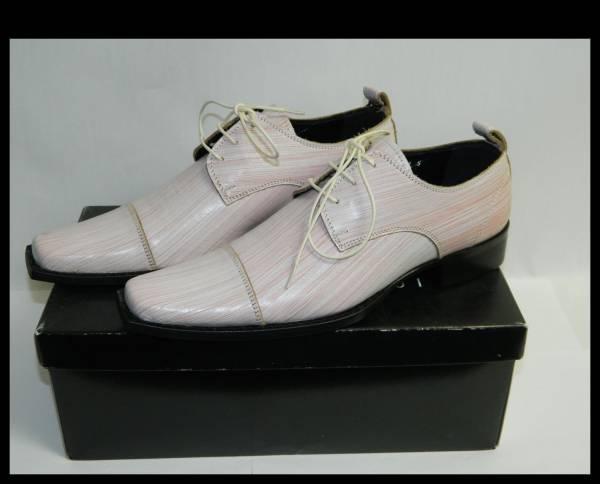 未使用MORGAN HOMME モルガンオム 革靴 レザーシューズS_画像1