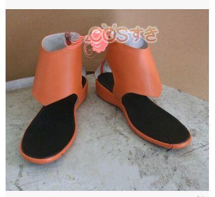 ギルティクラウン 楪いのり ゆずりは ブーツ コスプレ 靴 グッズの画像