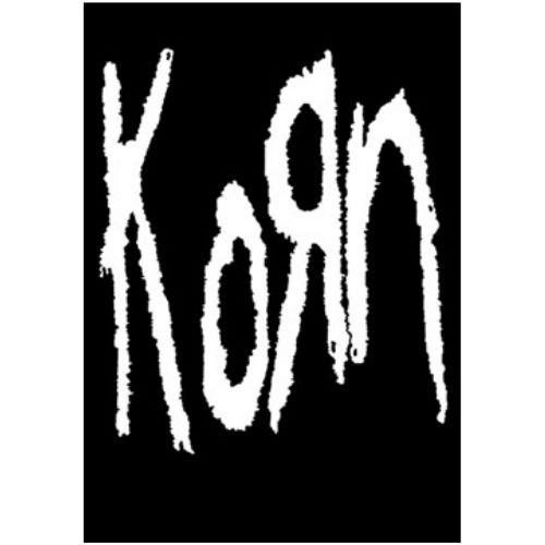 海外限定 公式 Korn コーン 特大布ポスター G162