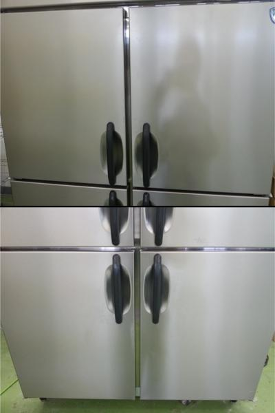 075 大和冷機 冷凍庫 431TCD 4枚扉 動作確認済 冷凍機 ダイワ_画像2