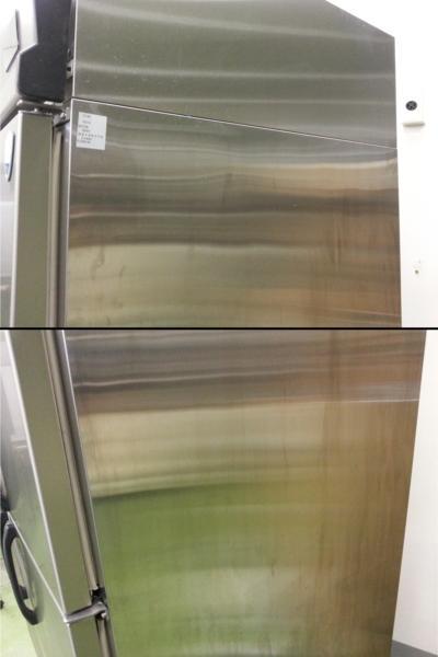 075 大和冷機 冷凍庫 431TCD 4枚扉 動作確認済 冷凍機 ダイワ_画像4