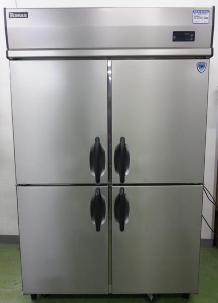 075 大和冷機 冷凍庫 431TCD 4枚扉 動作確認済 冷凍機 ダイワ_画像1